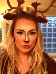Deer Antlers Halloween Costume Cute Deer Dot Detailing Shoulders Cool