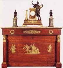 scrivania stile impero lo stile impero storia mobile restauro arte e antiquariato