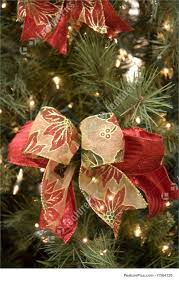 christmas tree bows holidays bows on christmas tree stock image i1564120 at featurepics