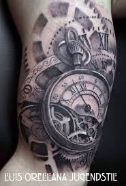 tattoo designs on the arm 30 best clock shoulder tattoo images on pinterest clock tattoos
