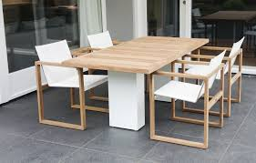 Stainless Steel Dining Room Tables by Contemporary Dining Table Teak Polished Metal Brushed