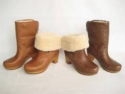womens ugg leather ankle boots 250 womens ugg lynnea ostrich leather sheepskin cuffable