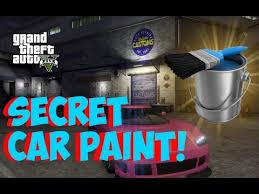 gta 5 online secret car paint hidden colors for cars how to