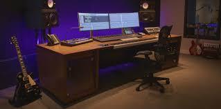 Small Music Studio Desk by Aka Design Mastering And Sound Design Furniture Desks