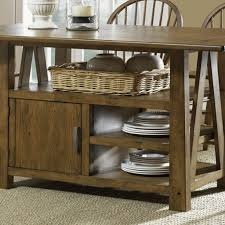 Piece Counter Height Kitchen Table Ward Log Homes - Counter height kitchen table with storage