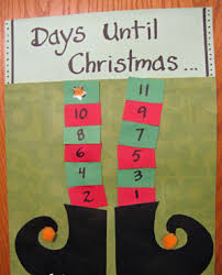christmas countdown calendar legs christmas countdown calendar allfreeholidaycrafts