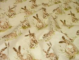 Zebra Print Upholstery Fabric Uk Hares Vintage Linen Look Animal Print Designs Curtain Upholstery