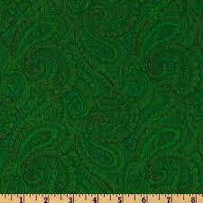 108 u0027 u0027 complementary quilt backing paisley dark green discount