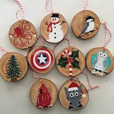 christmas ornaments and art on etsy