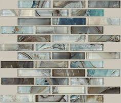 harbour island linear glass mosaic 12in x 12in 100268952