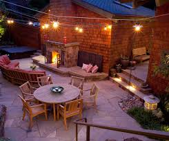 Exterior String Lights by 20 Beautiful Outdoor String Lights Set Up Home Design Lover