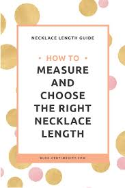 necklace length names images Necklace length guide how to measure choose the right necklace jpg