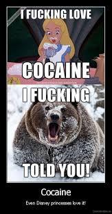 Bear Cocaine Meme - cocaine demotivation us