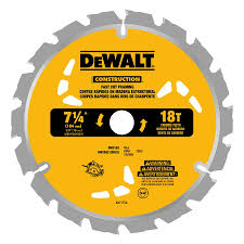 Circular Saw Blade For Laminate Flooring Shop Dewalt 5 Pack 7 1 4 In 18 Tooth Tooth Carbide Circular Saw