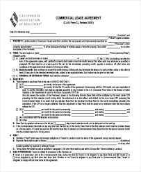 sample lease agreement form 9 free documents in doc pdf