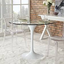 Clear Dining Room Table by Lushbaugh Clear Transparent Dining Table Mid Century Modern
