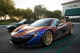 mclaren p1 purple chameleon mclaren p1 belonging to los angeles angels pitcher cj