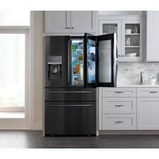 Home Depot French Door - samsung 27 8 cu ft food showcase 4 door french door refrigerator