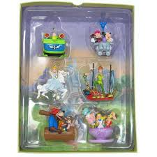 your wdw store disney ornament set storybook four