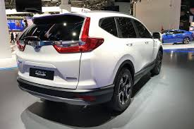 honda cr hybridised honda suv new cr v hybrid prototype hits frankfurt by