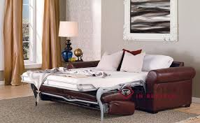 Queen Leather Sleeper Sofa Customize And Personalize Sleepover Queen Leather Sofa By Palliser
