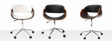 bureau miliboo fauteuil design tres confortable schöne fauteuil de bureau chaise de