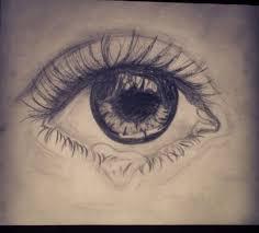 photos drawings of sad eyes drawing art gallery