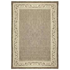 7 X 10 Outdoor Rug Brown 7 X 10 Outdoor Rugs Rugs The Home Depot