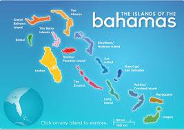 Bahamas On World Map Bahamas Merk Zone