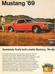 ford mustang ad 1969 ford mustang ad cars today
