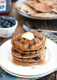 vegan blueberry pancakes nutritious eats