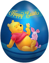 winnie the pooh easter eggs kids easter egg winnie the pooh and piglet png clip image