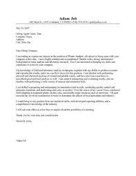 sample chemistry cover letter chemistry teacher cover letter