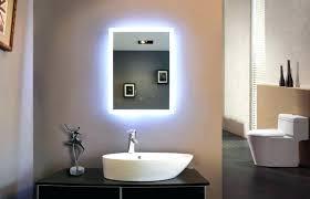 Bathroom Mirror With Lighting Bathroom Mirror Light Bulbs Led Lights Bathroom Mirror Light