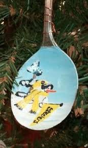 steelers team ornament christmas ornament personalize christmas