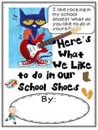 pete the cat five little pumpkins book shoes reading out