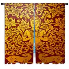 Asian Curtains Asian Custom Size Window Curtains