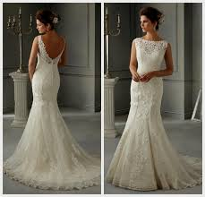 Vintage Lace Wedding Dress Lace Wedding Dresses With Low Back Naf Dresses