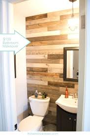 bathroom accent wall ideas wood planks for bathroom walls bathroom wall ideas intended for