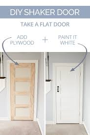 Interior Doors Cheap Diy Shaker Door Shaker Doors Slab Doors And Plywood