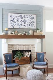 Rustic Mantel Decor Diy Fall Mantel Decor Ideas To Inspire Landeelu Com