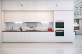 Minimalist Kitchen Cabinets by Stunning Purple Glossy Great Kitchen Design White Solid Modern