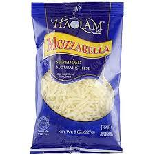 kosher for passover noodles haolam shredded mozzarella cheese 8 oz passover westernkosher