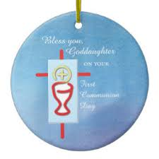 goddaughter ornament holy chalice christmas tree decorations ornaments zazzle co uk