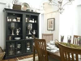 black corner china cabinet black hutch cabinet image of china cabinet display dining room