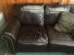 How To Fix Ripped Leather Sofa How To Repair A Large Tear In Leather Sofa Centerfieldbar Com