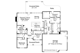 Floor Plans For Ranch Style Homes Ranch House Plans Jamestown 30 827 Associated Designs