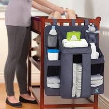 Changing Table Organization Nursery Organizer And Baby Caddy Hanging