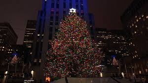 rockefeller center christmas tree lit in star studded ceremony