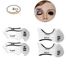 mlmsy makeup beauty cat eyeliner smokey eye stencil models